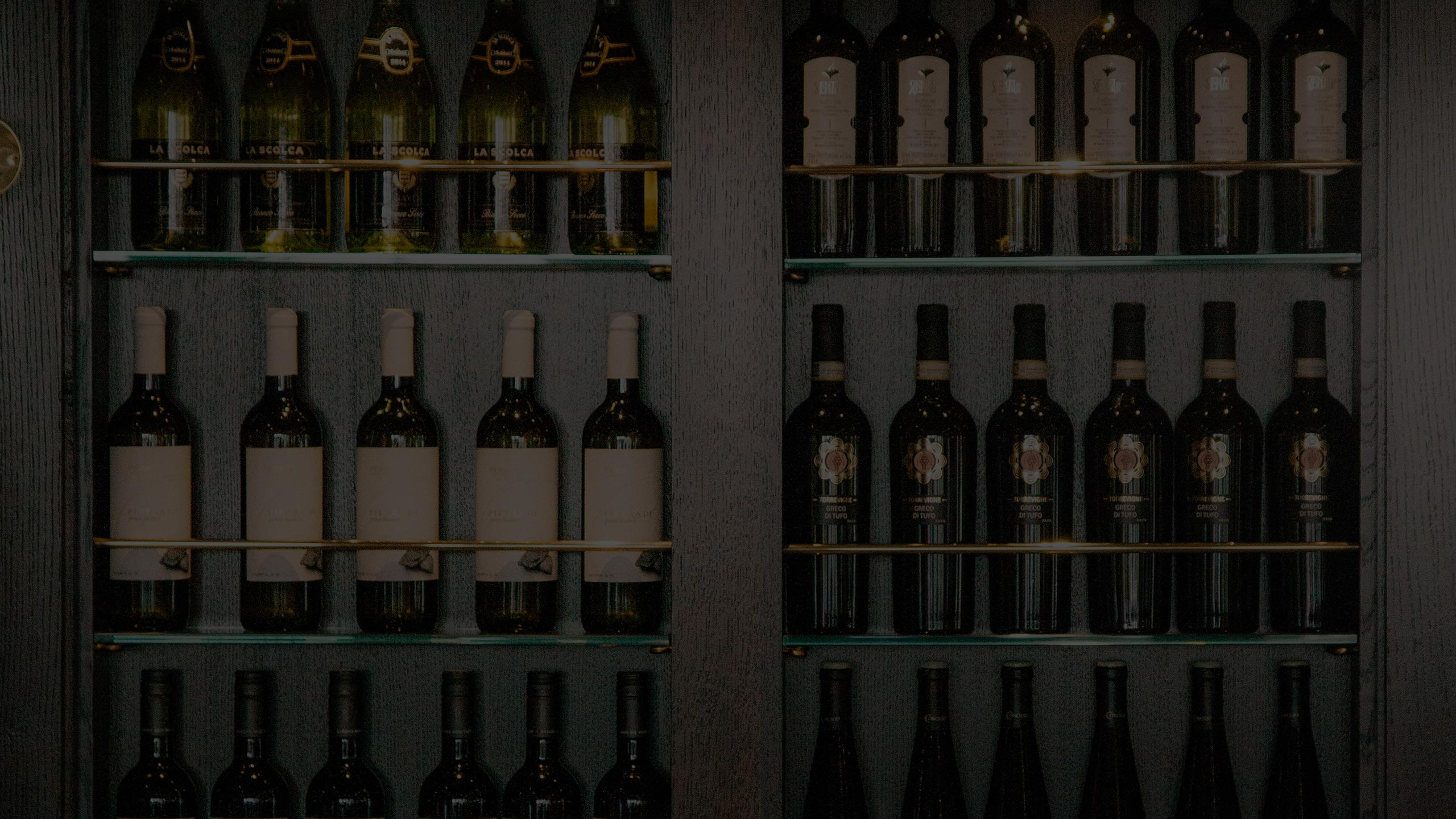 Italian wine Wine Rack inside Piccolino e vino southside